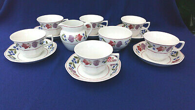Adams English Ironstone~  Old Colonial 14 Piece Tea Set • 11.99£