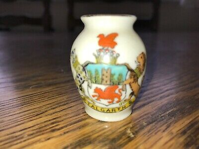 Tuscan Crested Ware Vintage China Vase Talgarth • 0.99£