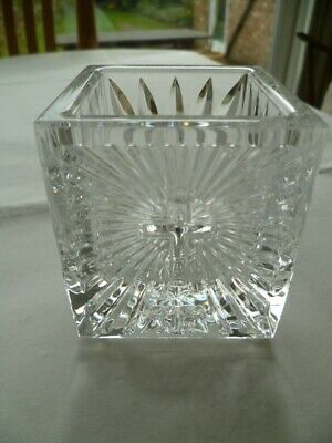 Waterford Crystal - Votive Christianity Cross 2000AD • 15£