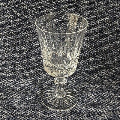 Royal Brierley Large Crystal Wine Glass Goblet Single Crystal Cut Glass • 25£