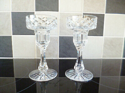 Pair Of Tyrone Crystal Candlesticks In Original Boxes • 16£