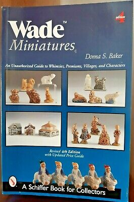 WADE MINIATURES - Guide Book BY DONNA S BAKER • 9.99£