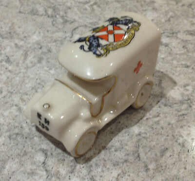 Goss & Crested China - WW1 Ambulance Rotherfield Crest Arcadian China • 30£