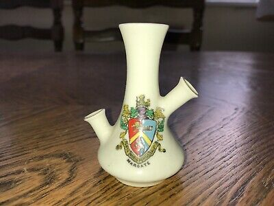 Crested Ware Vintage China Puzzle Jug Margate • 0.99£