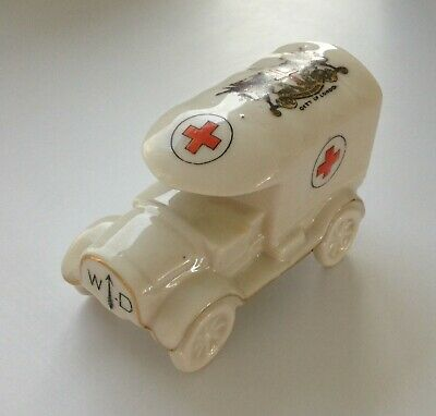 Goss & Crested China - WW1 Ambulance London Crest Carlton China • 21£