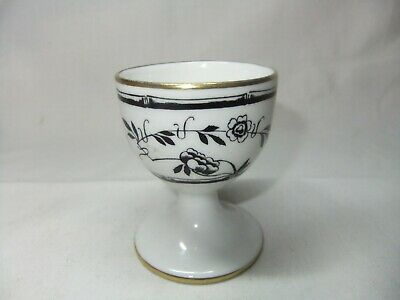 Very Rare Collectible Hammersley Bamboo Black Flowers & Bamboo Floral Egg Cup • 29.99£