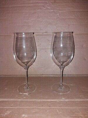 2 Dartington 24.5 Cm Wine Glasses Signed Tony R • 5£