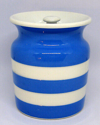 T G Green Cornishware Green Shield Storage Jar • 8.99£