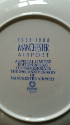 Manchester Airport Commemorative Plate  • 2.50£