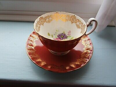 Beautiful Aynsley Cup & Matching Saucer-FREE POSTING-NO MORE REDUCTIONS. • 21.95£