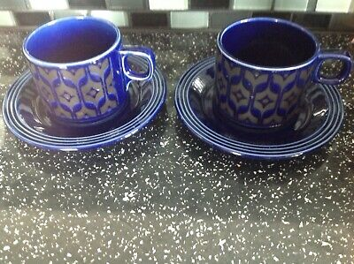 2x Hornsea Heirloom Cups And Saucers. • 5.99£