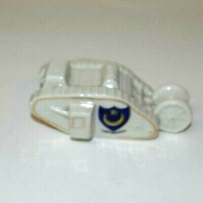 Shelley, Crested China WW1 Tank. Portsmouth. • 24.99£