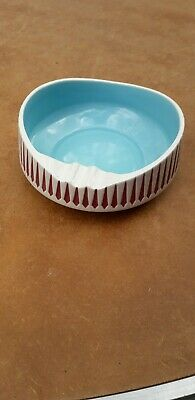 Rare Hornsea Pottery  Retro Ashtray Pageant Design (1960-81) Model Number 234   • 9.95£