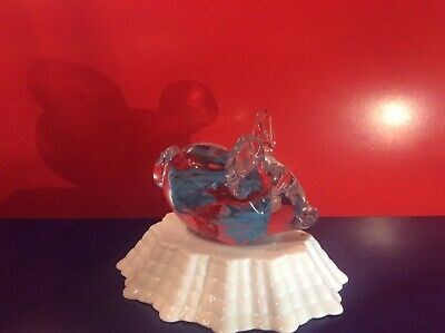 Langham Glass Small Animal Paperweight • 4.99£