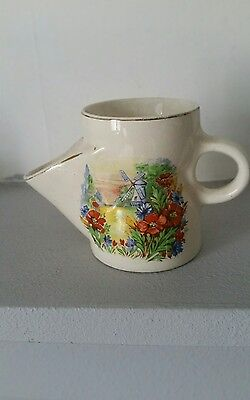 China Shaving Mug With Garden And Windmill On Front. • 3.50£
