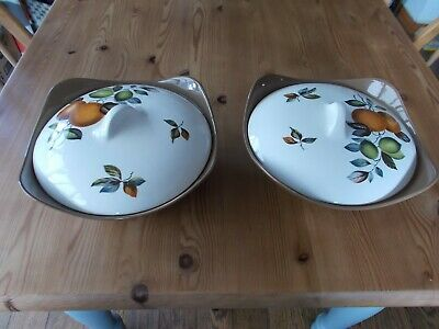 Alfred MeakinTureen Dishes Set Of 2 • 8£