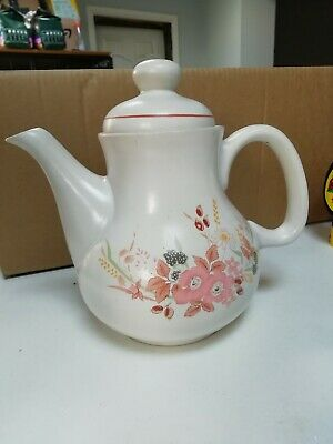 Boots Hedge Rose Coffee Pot • 0.99£