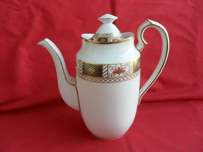 Royal Crown Derby - Derby Borders (A1253), Coffee Pot FOR DONNA ONLY • 60£