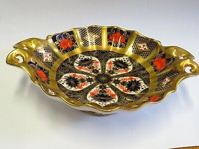 ROYAL CROWN DERBY OLD IMARI  Small Footed Dish • 20£