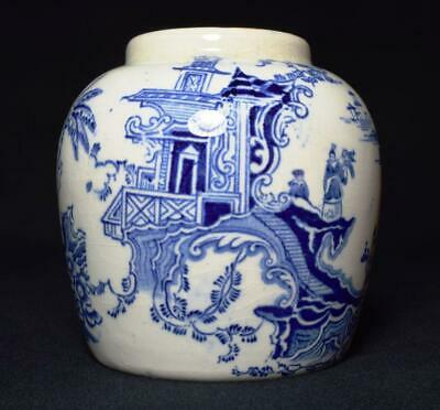 Antique Victorian Pottery Chinoiserie Ginger Jar 19thC • 19.99£