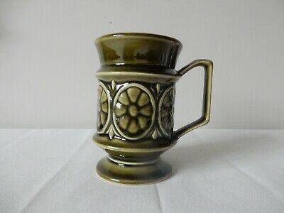 Lovely Vintage Green Holkham Pottery Design T118 1970's Excellent • 5.99£