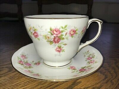 Duchess June Bouquet Breakfast Cup And Saucer Vintage China VGC • 9.99£