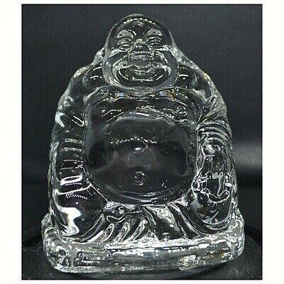 Laughing Buddha Crystal Ornament Large • 11.99£