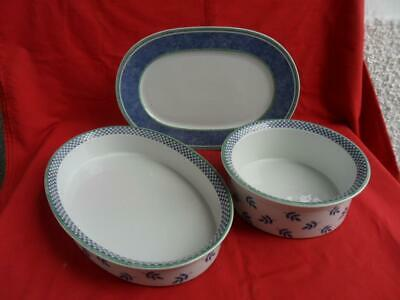 Villeroy & Boch SWITCH 3, - 3 X Cookware/Serving Pieces • 65£