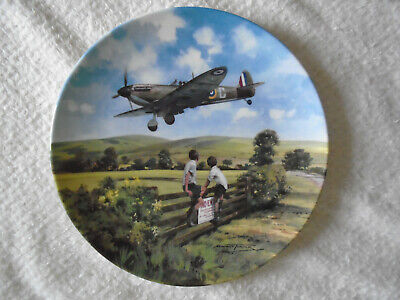 Royal Doulton Ornamental Plate *spitfire Coming Home* Limited Edition. • 1.99£
