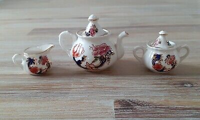Masons Mandalay Miniature Tea Set • 25£