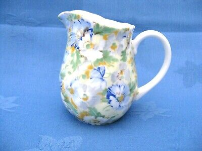Queens Fine Bone China English Chintz Milk Jug. A Crownford Product. • 14£
