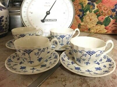 Vintage Myott Pottery Finlandia Cup And Saucer X 4 • 15£