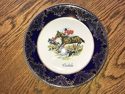 Falcon Ware Hunting Scene Plate Carlisle Weatherby Hanley • 1.99£