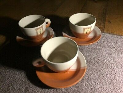 Vintage Cup & Saucer Sets X 3. Pre-owned. • 1.80£
