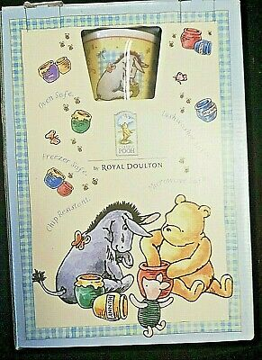 Classic Winnie The Pooh Gift Royal Doulton Bowl Cup Gift Set Boxed • 15£
