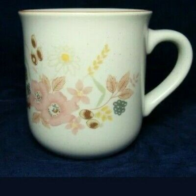 Boots Hedge Rose Pottery Stoneware 5 Mugs Immaculate Cond/Dishwasher/Oven/Microw • 25.99£