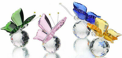 CRYSTAL BUTTERFLY 6cm - BOXED • 8.99£