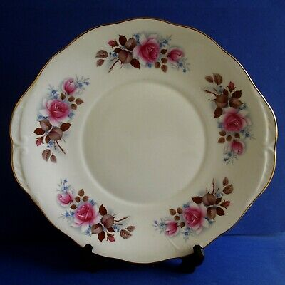 Queen Anne Tab Handled  Cake Plate • 3.99£