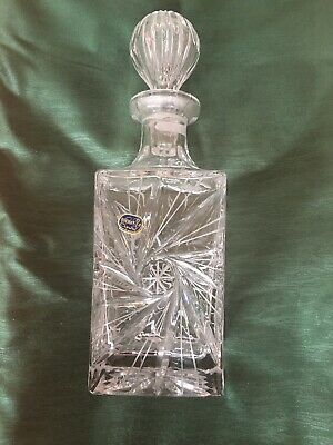 Crystal Decanter • 4.95£