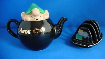 Wade Andy Capp Teapot And Toast Rack • 18.99£