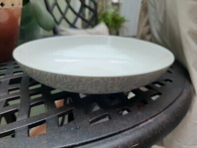 Denby Monsoon Lucille Silver Pasta Bowl X 1 • 10£