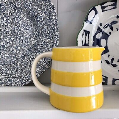 Sold Out New Yellow Cornishware Dreadnought Jug Made In England  • 25£