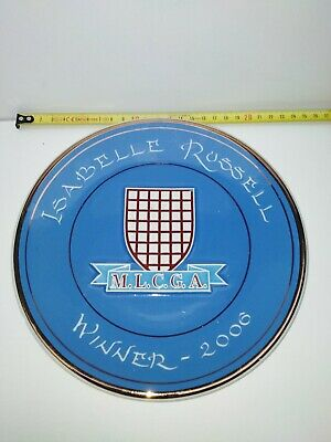 Super Rare Rumney Pottery Plate Isabelle Russell MLCGA 2006 • 9.99£