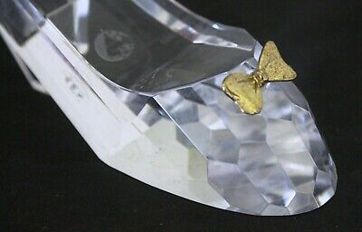 Lead Crystal Cut Glass Slipper  • 12£
