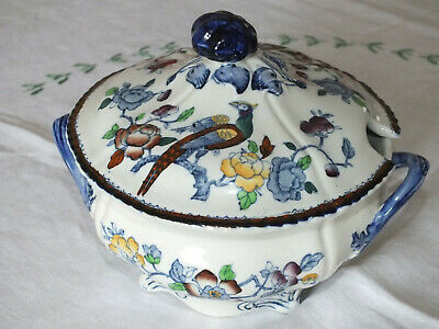 Antique Woods Ware MAYFAIR Lidded Vegetable Dish C1917  • 15£