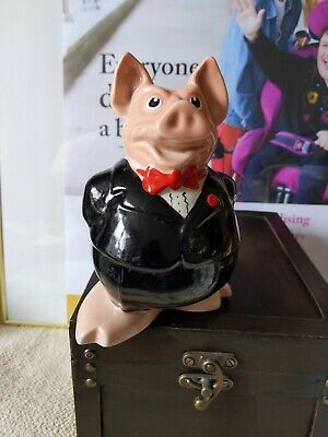 NatWest Pig Sir Nathaniel By Wade With Original Stopper - VeryCondition • 20£