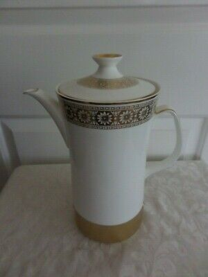 Gold Marguerite Automatic Electric Coffee Pot - Wedgwood / Russell Hobbs • 15£