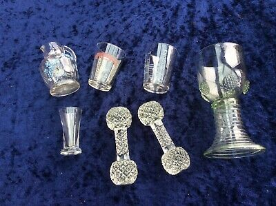 Job Lot Of Various Vintage Glass Items • 5£