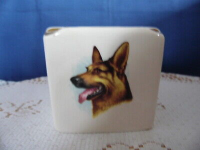 Vintage Square Wade Ashtray Dog Decoration • 3.95£