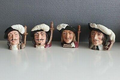 Royal Doulton The Three Musketeers & D'artagnan • 40£